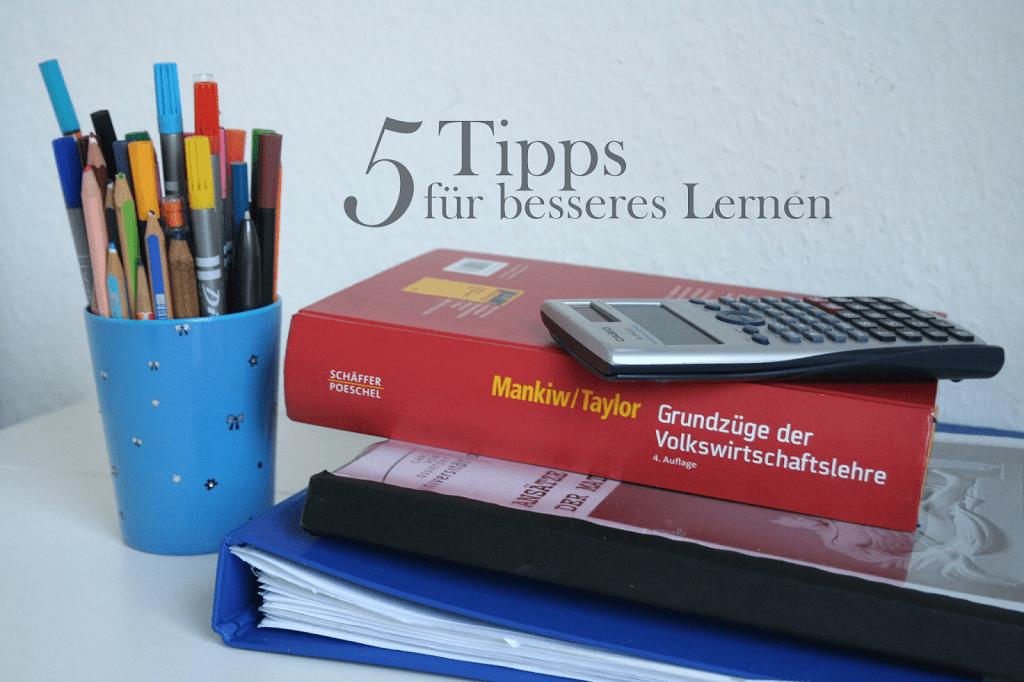 5 Tipps für mehr Konzentration beim Lernen