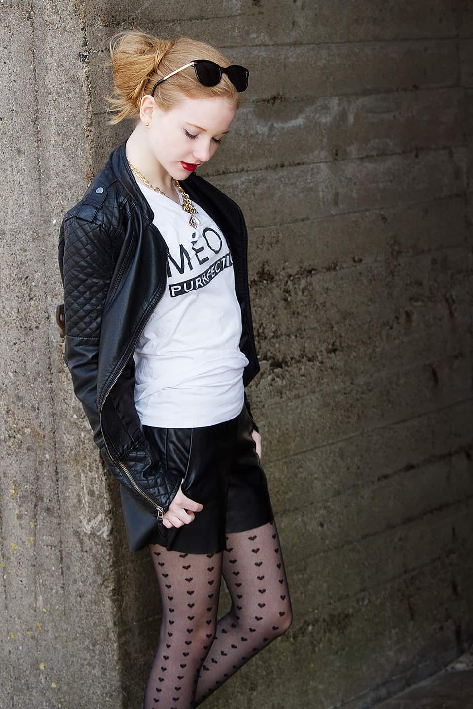 Black and White Rockabilly Outfit