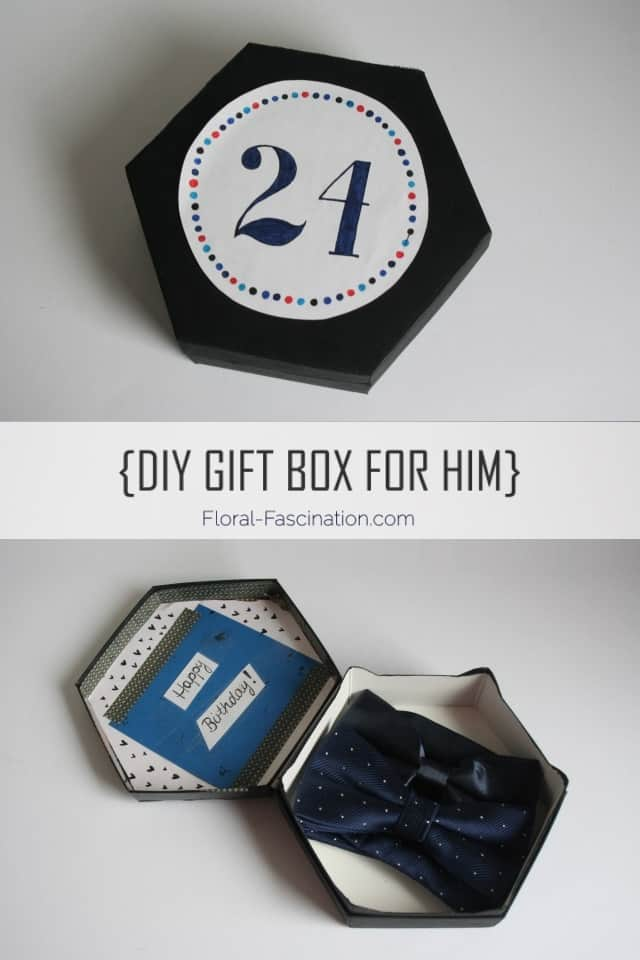 DIY Gift Box For Him