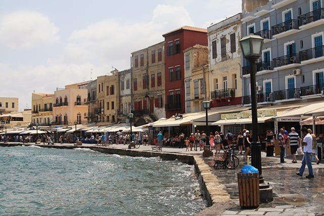 Kreta Urlaub Stadt