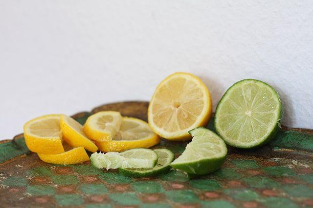 Gesunder Eistee Rezept Grüner Tee Sencha Zitrone Limette