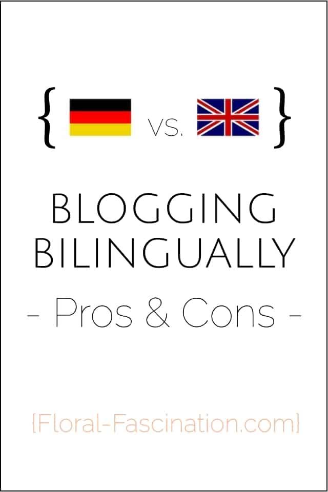 Zweisprachig Bloggen - Vorteile und Nachteile