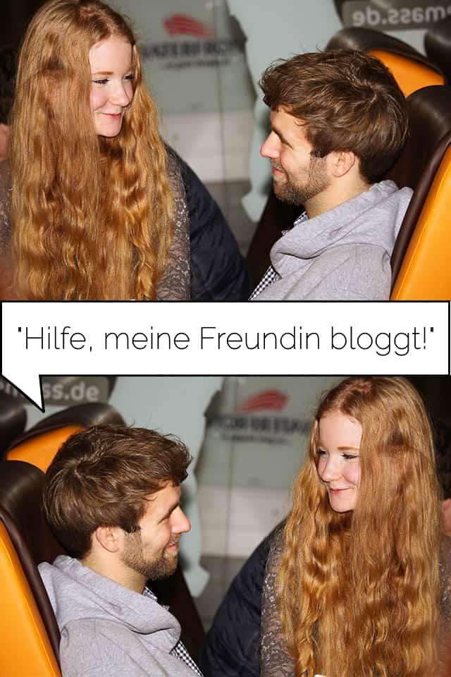 Hilfe, meine Freundin bloggt - Blogparade