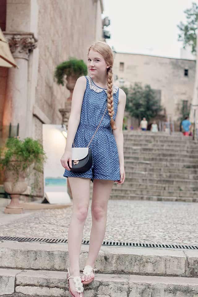 Palma Sommer Outfit Jumpsuit Chloe Drew Lookalike
