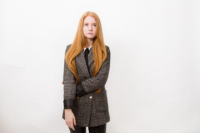 Outfit Mantel Lederhose Schwarz Weiß Sneaker Trends 2015 Zara Fashionblog Oldenburg Bremen