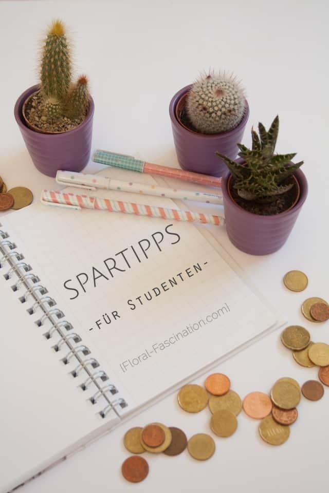 Spartipps für Studenten - Geld sparen im Alltag
