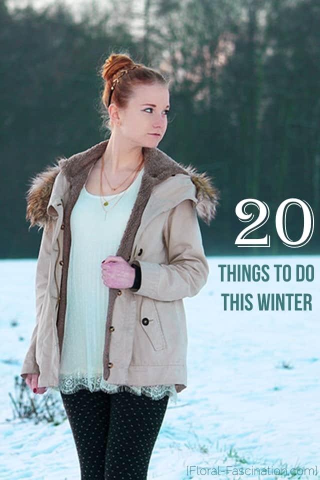 20 things to do Bucket List Winter Weihnachten 2015