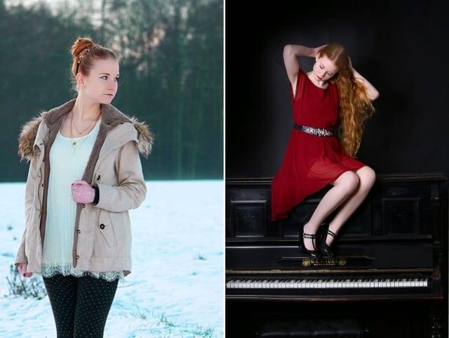 Jahresrückblick 2015 Januar Februar Outfits