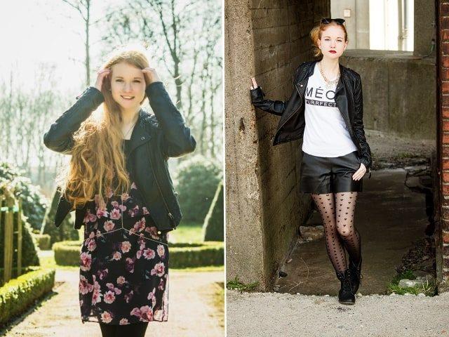 Jahresrückblick 2015 Maerz April Outfits