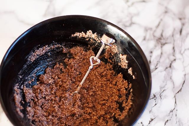 DIY Selbstgemachtes Cappucino Kokos Peeling