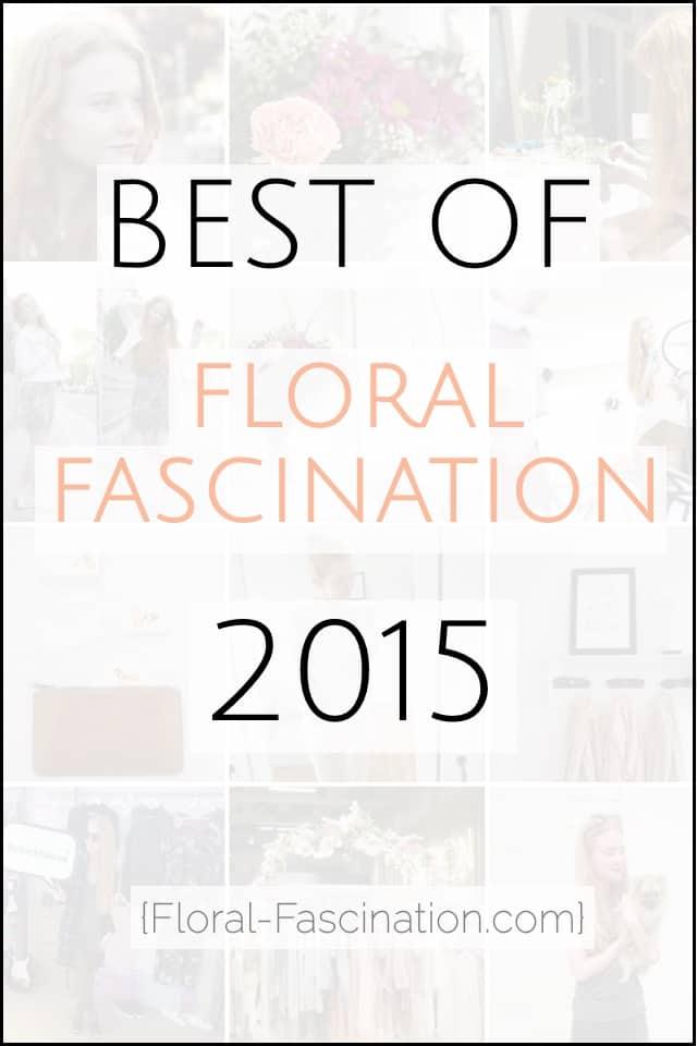 Jahresrückblick Floral Fascination 2016