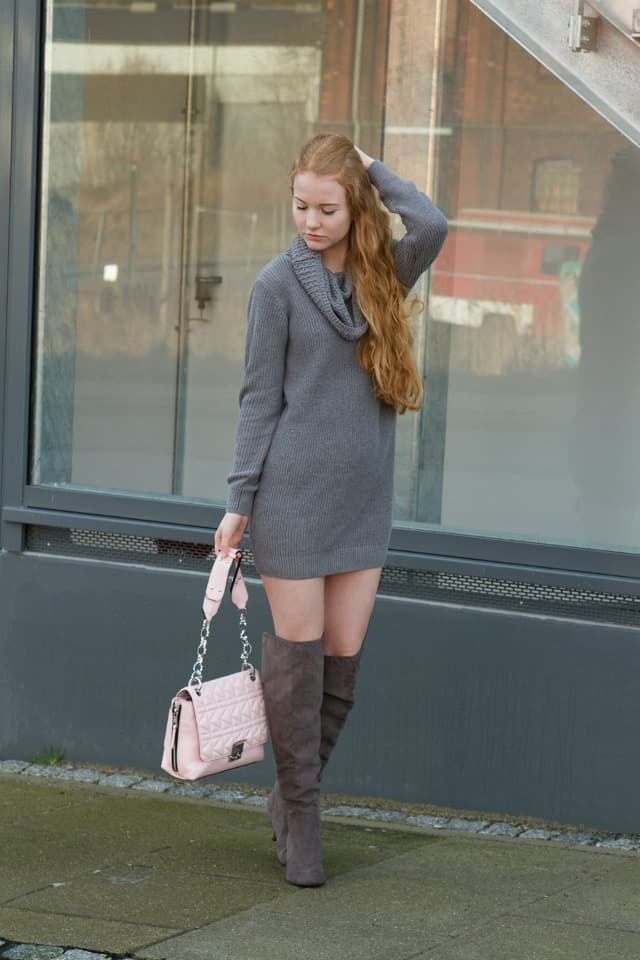 7 days of style winter knit outfit fee schoenwald modeblog aus bremen oldenburg. Black Bedroom Furniture Sets. Home Design Ideas