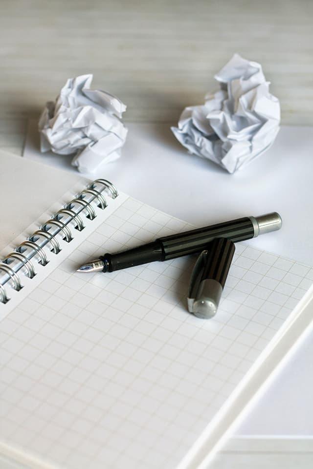 Thoughts Mehr als eine Schreibblockade