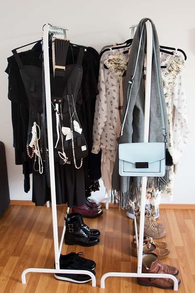 Günstiger begehbarer Kleiderschrank, Ikea | Fee Schoenwald: Modeblog ...