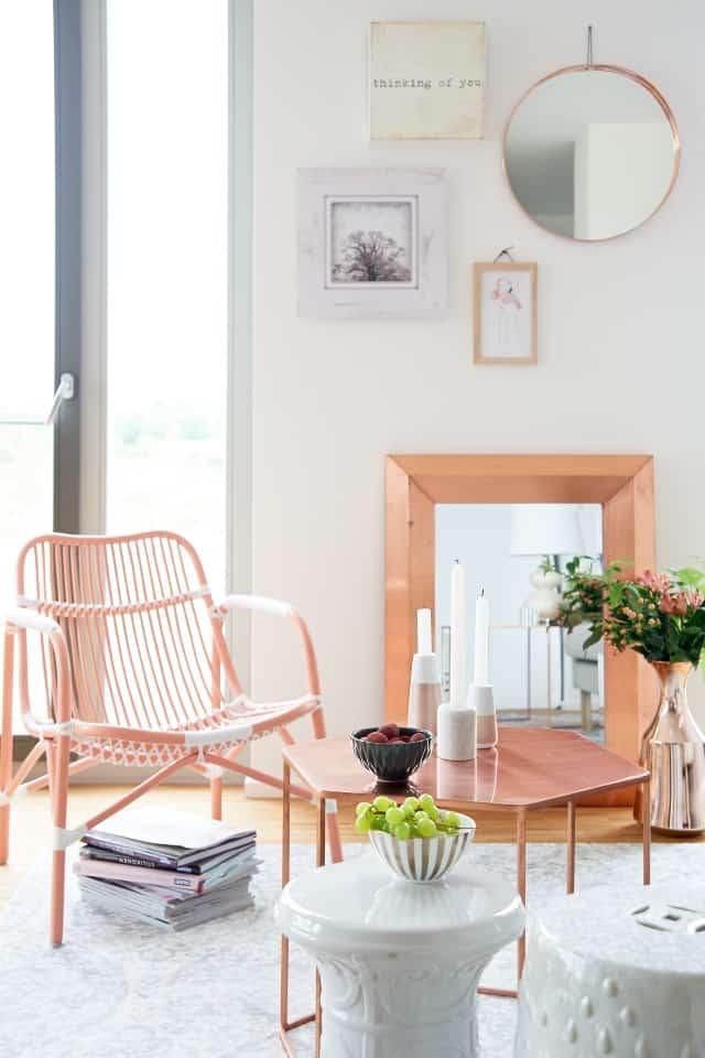 Interior Inspiration Kupfer und Koralle | Fee Schoenwald: Modeblog ...