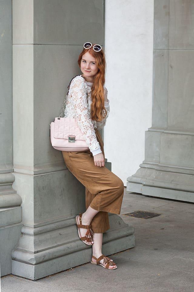 Fashionweek Berlin 2016 Outfit Streetstyle Elegant mit Culotte