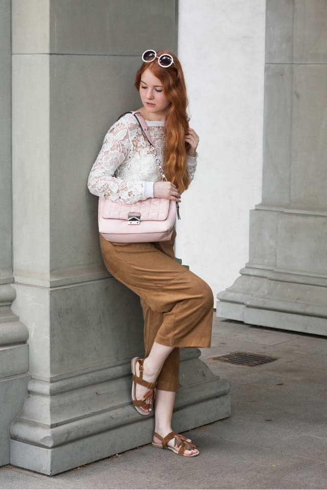 Fashionweek Berlin 2016 Outfit Streetstyle Elegant mit Culotte