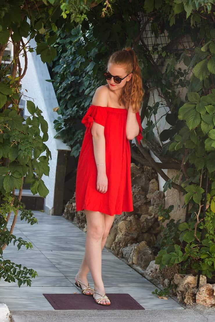 Lässiges Sommer Outfit aus Kreta Trends
