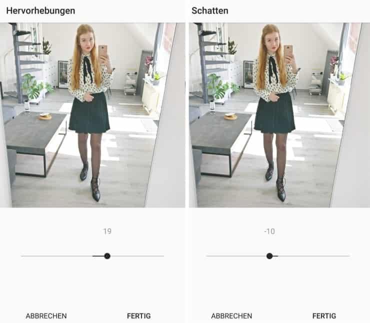 Bilder für Instagram bearbeiten Unum Facetune Snapseed