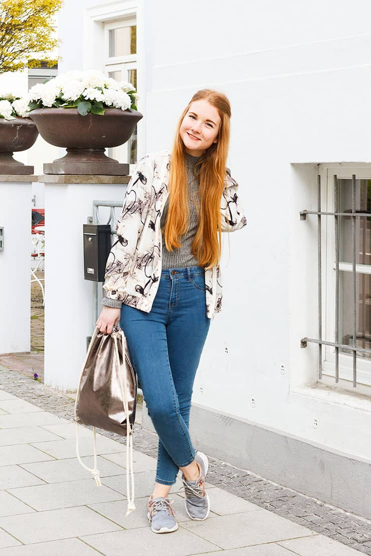 Outfit} Frühlingsfarben / 20 Things to do this Spring | Fee ...
