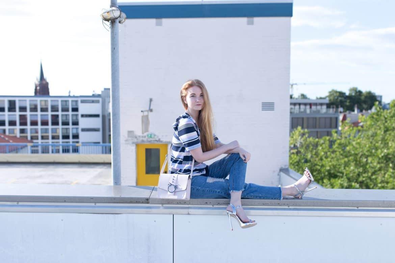Sommer Outfit Bold Stripes Modeblog Oldenburg Bremen