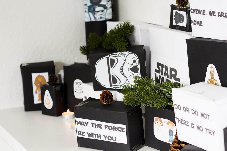 Weihnachtskalender Für Männer.Diy Tutorial Star Wars Adventskalender Für Männer Fee Schoenwald