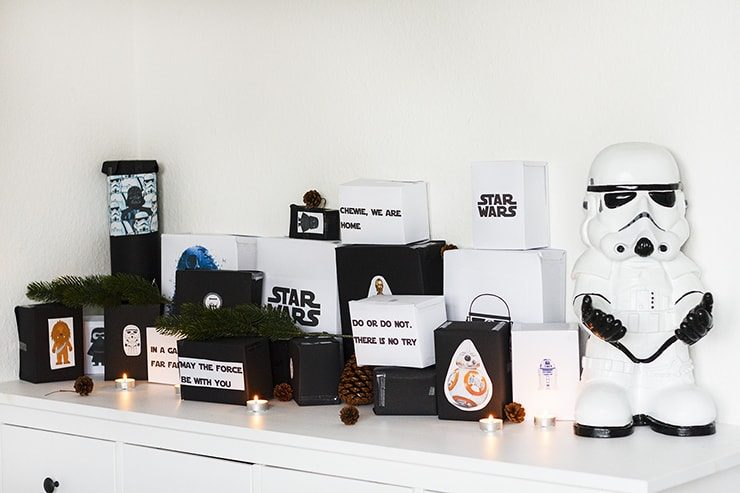 diy tutorial star wars adventskalender f r m nner fee. Black Bedroom Furniture Sets. Home Design Ideas
