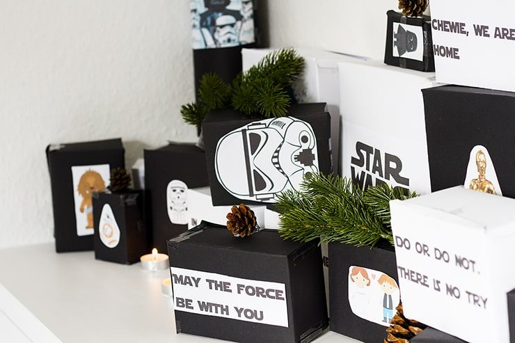 DIY Tutorial Star Wars Adventskalender für Männer