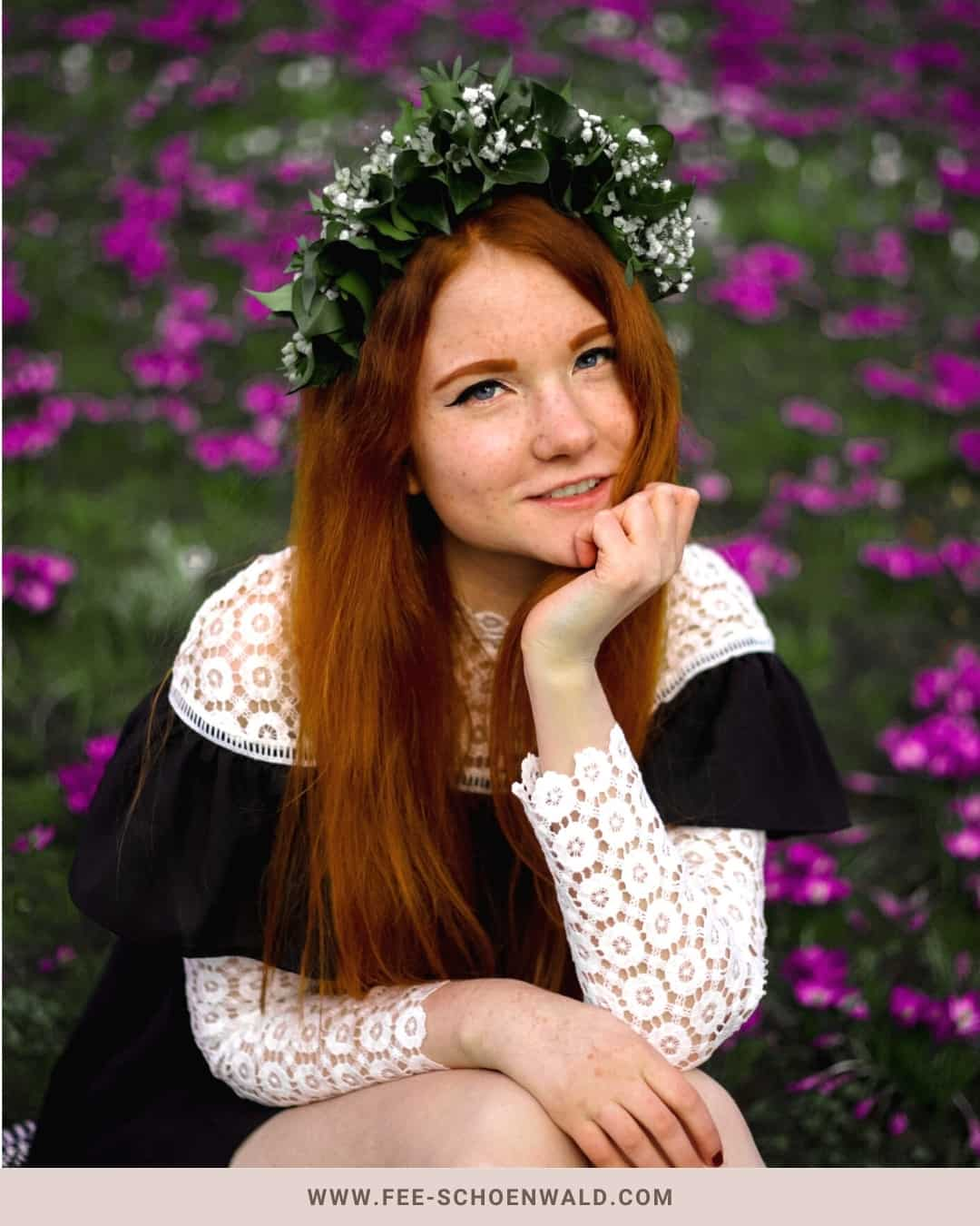 Blumenbild Fee Schoenwald