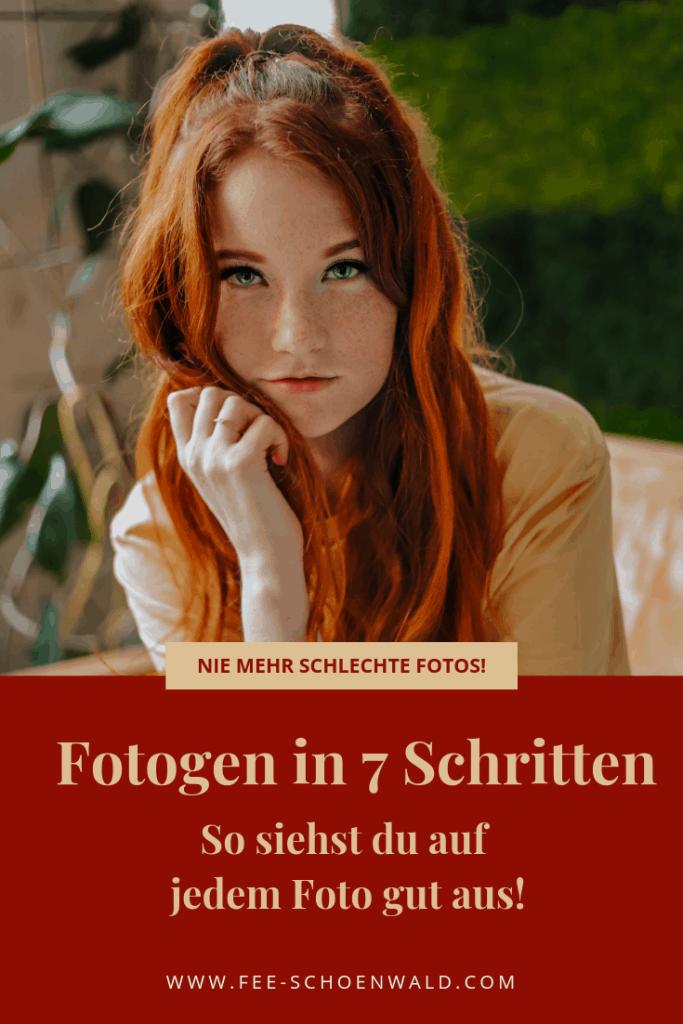 Fee Schoenwald Fotogen werden auf Fotos gut aussehen Tipps