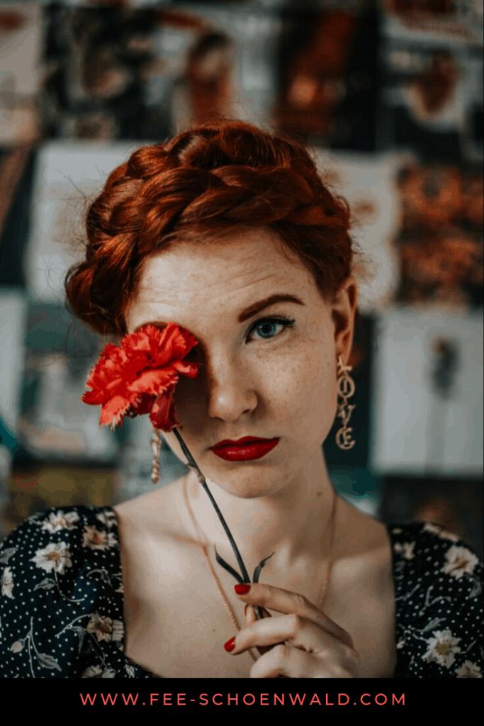 Fee Schoenwald Richtig schminken für Foto Shootings Tipps