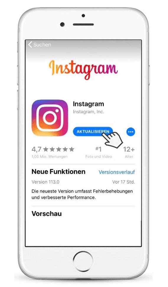 Instagram Account anlegen Unternehmen