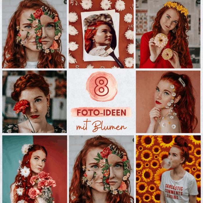 8 Foto-Ideen mit Blumen Fee Schoenwald