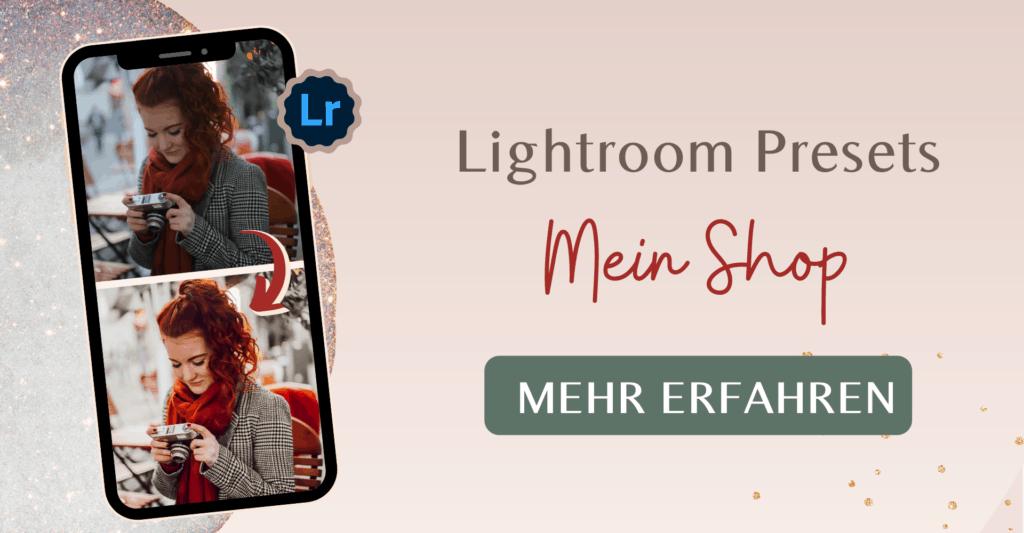 Fee Schoenwald Lightroom Presets