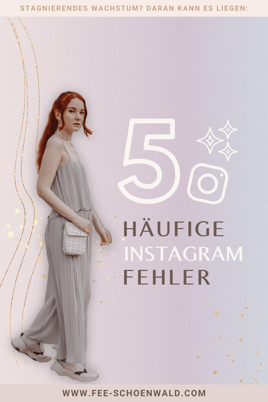 5 häufige Instagramfehler, Fee Schoenwald, final
